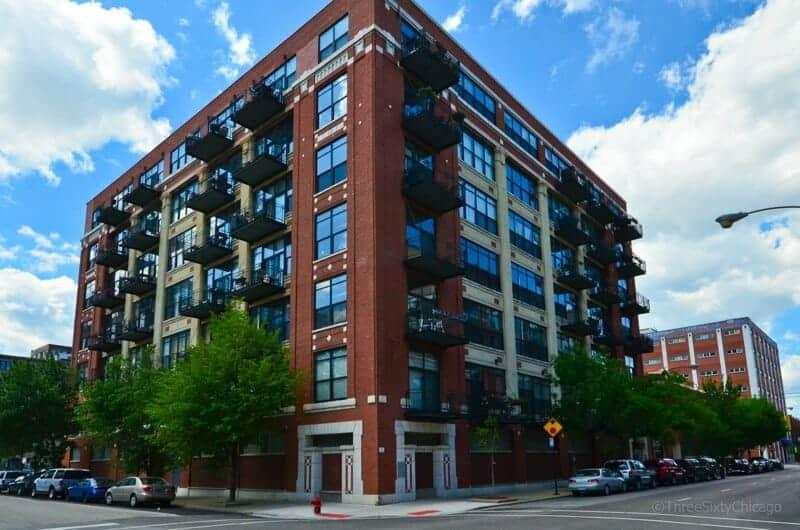 843 W. Adams Loft Building in the West Loop by Chuck Gullett