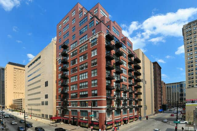 Harrison Street Lofts at 547 Clark Street in Chicago's Printer's Row
