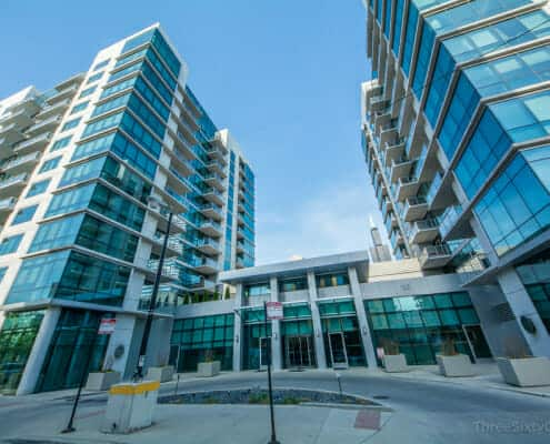 Exterior of Emerald Condos For Sale at 123 Green St, Chicago IL 60607