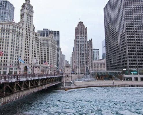 River North Real Estate - Tribune Tower and Wrigley Building