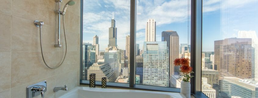 Chicago highrise condo with views - bath-1