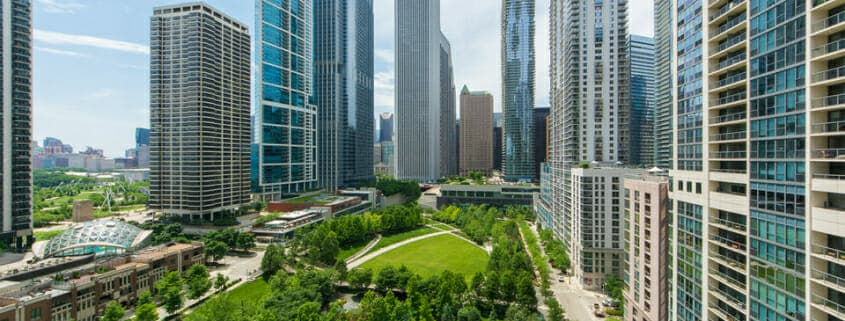 Condo With Views Of Lakeshore East Park 201 North Westshore Drive - Views, Best Walkable Chicago Neighborhoods