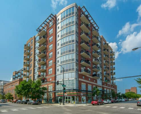 Exterior photo of 1201 W Adams - Promenade Condos for sale