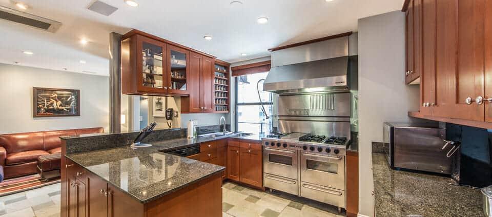 classic Lakeshore Drive condo - kitchen