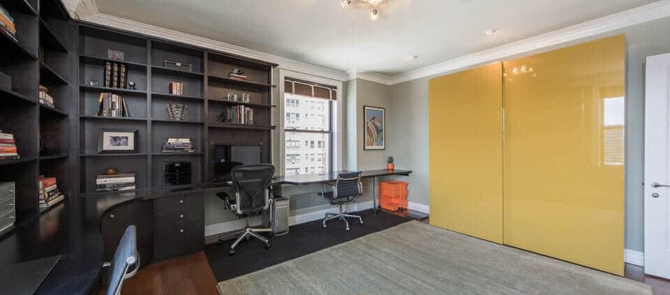 classic Lakeshore Drive condo - office