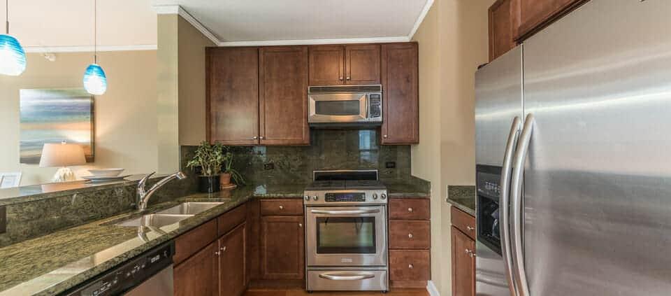450 Waterside The Chandler - Kitchen