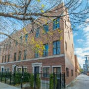 West Loop 3-Bedroom Townhome For Sale - Front View