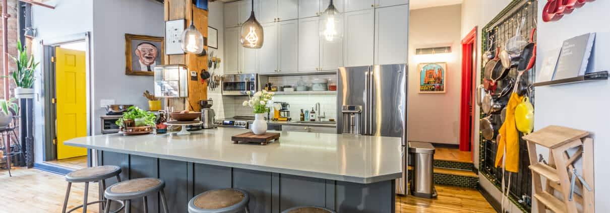 Printers Row Live Work Loft for sale - 711 S Dearborn, Unit 404, Chicago, IL - kitchen