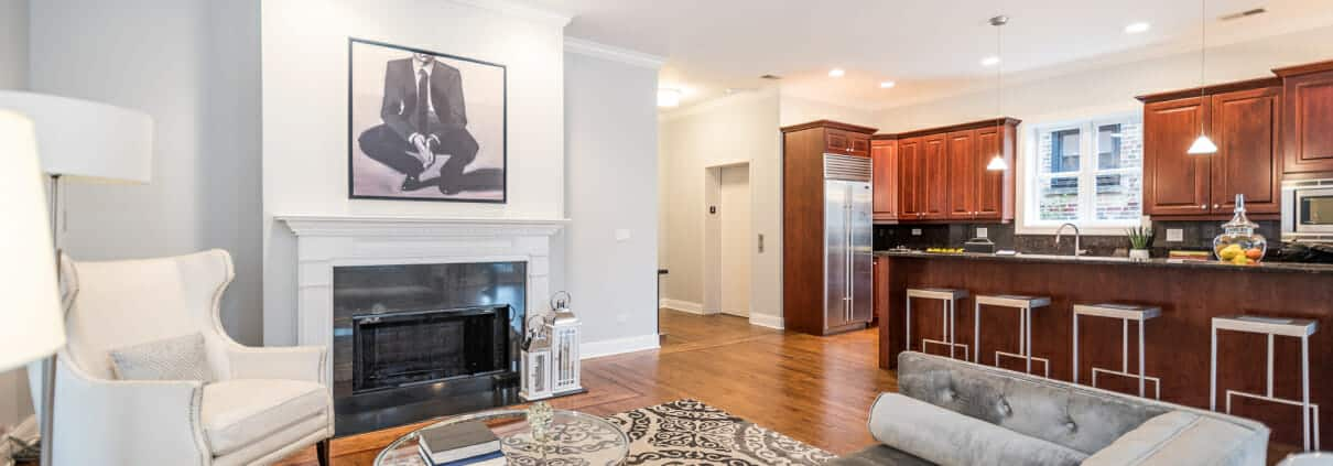 2911 N Halsted, Unit 3, Chicago, IL - Living area