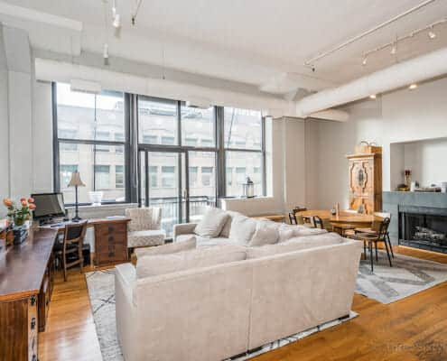 547 S Clark 901 - sunny and bright printers row loft