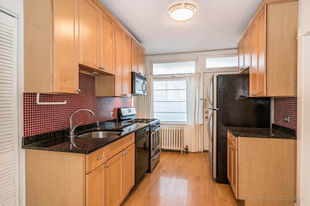 Kitchen at 2510 W Leland Ave, Unit 1, Chicago IL