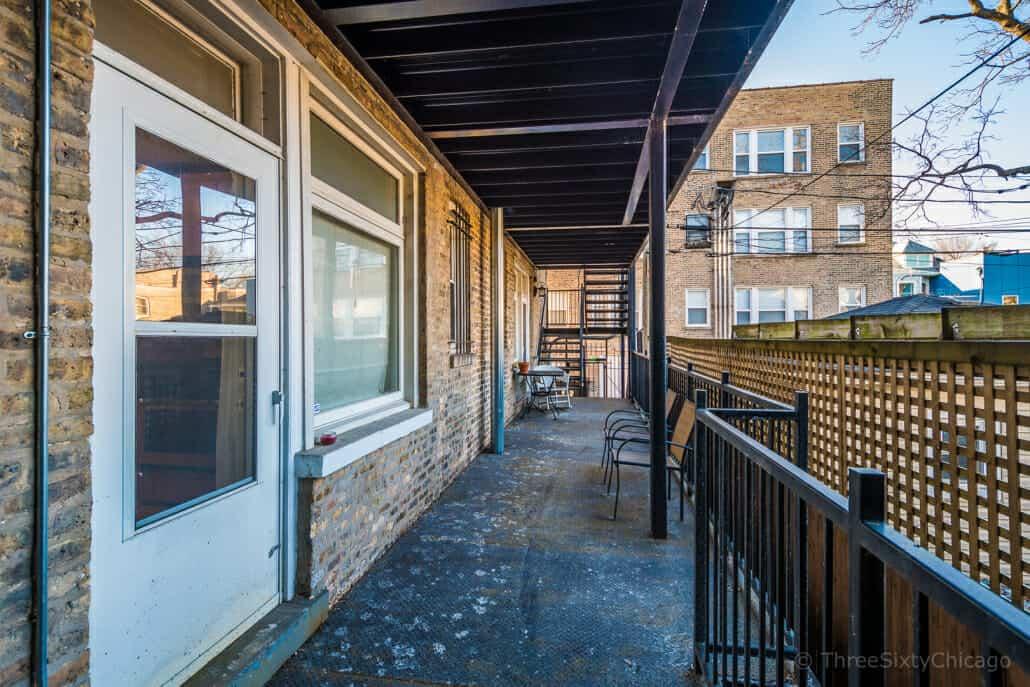 Lincoln Square condo for sale - balcony
