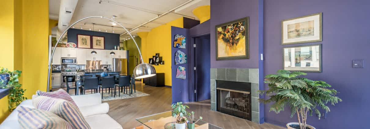 547 S Clark Street, Unit 402, Chicago IL - Open Living Space