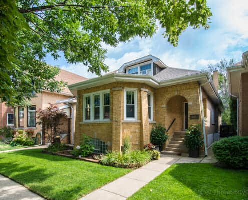 Classic Chicago Bungalow at 6647 N. Washtenaw Ave - Exterior Front