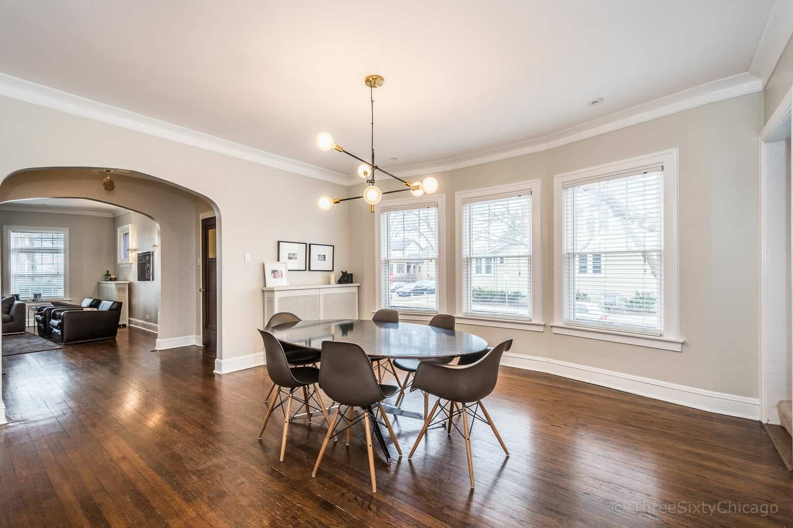Dining room - charming chicago bungalow