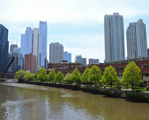River West Chicago homes
