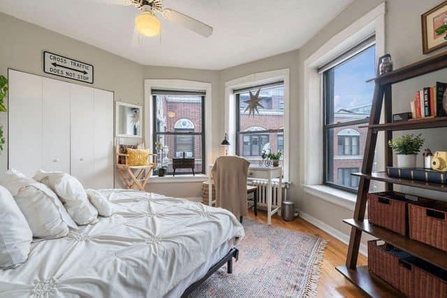 Bedroom one in 725 W Sheridan Road Unit 702