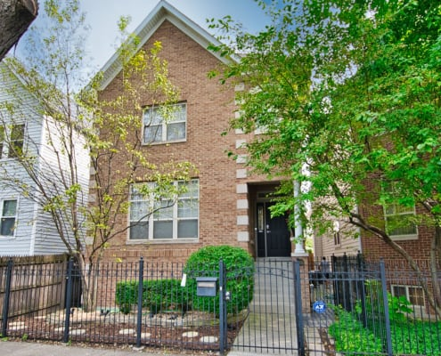 1821 North Talman Ave - West Bucktown Home - Front View