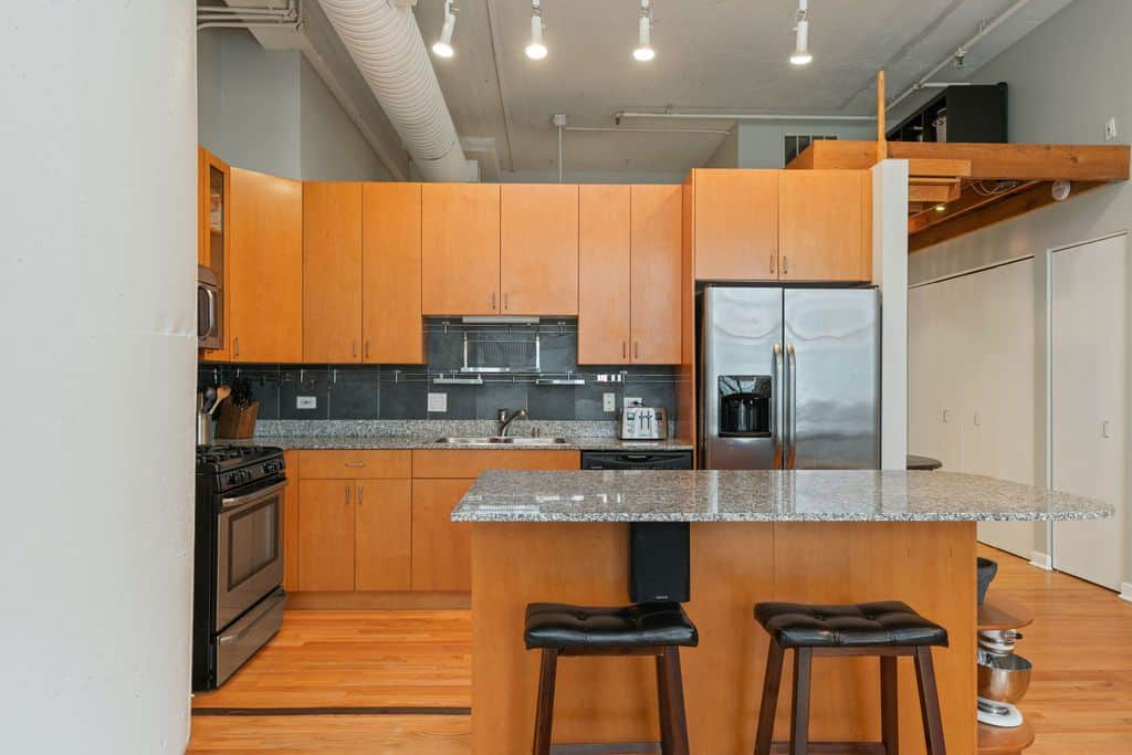 547 S Clark Unit 301, Chicago, IL 60605 - Bright And Spacious Printer's Row Loft - Kitchen