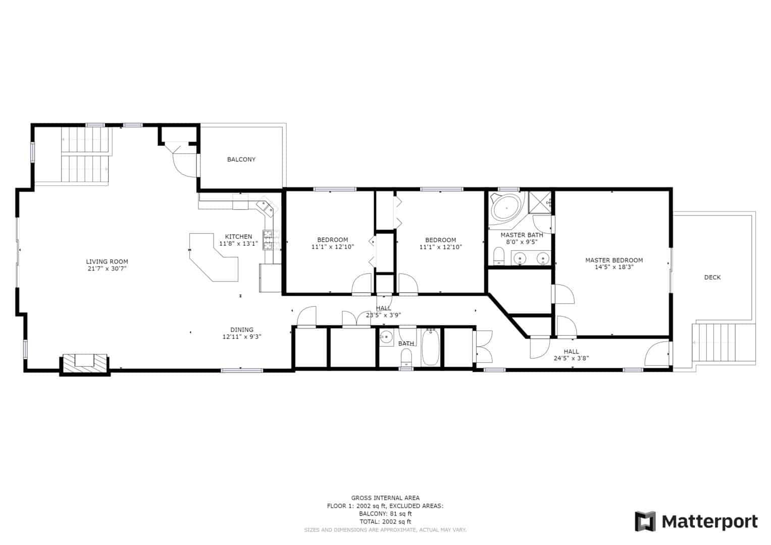 Chicago Penthouse In The Trees - Floor Plan