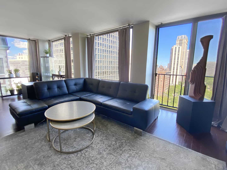 Living Area 3 - 345 W Fullerton, #1908, Chicago, IL 60614