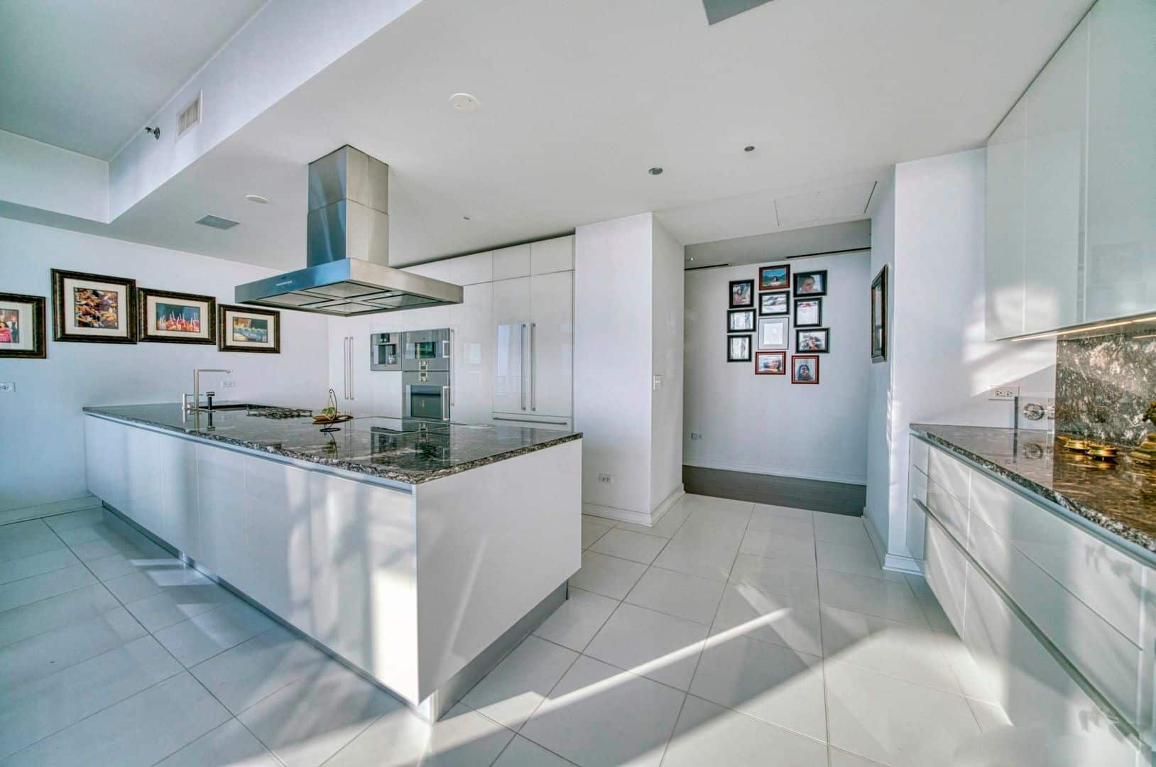 Spectacular Downtown Chicago Penthouse Rental - Kitchen