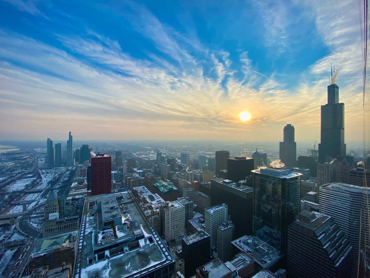 Spectacular Downtown Chicago Penthouse Rental - Sunset