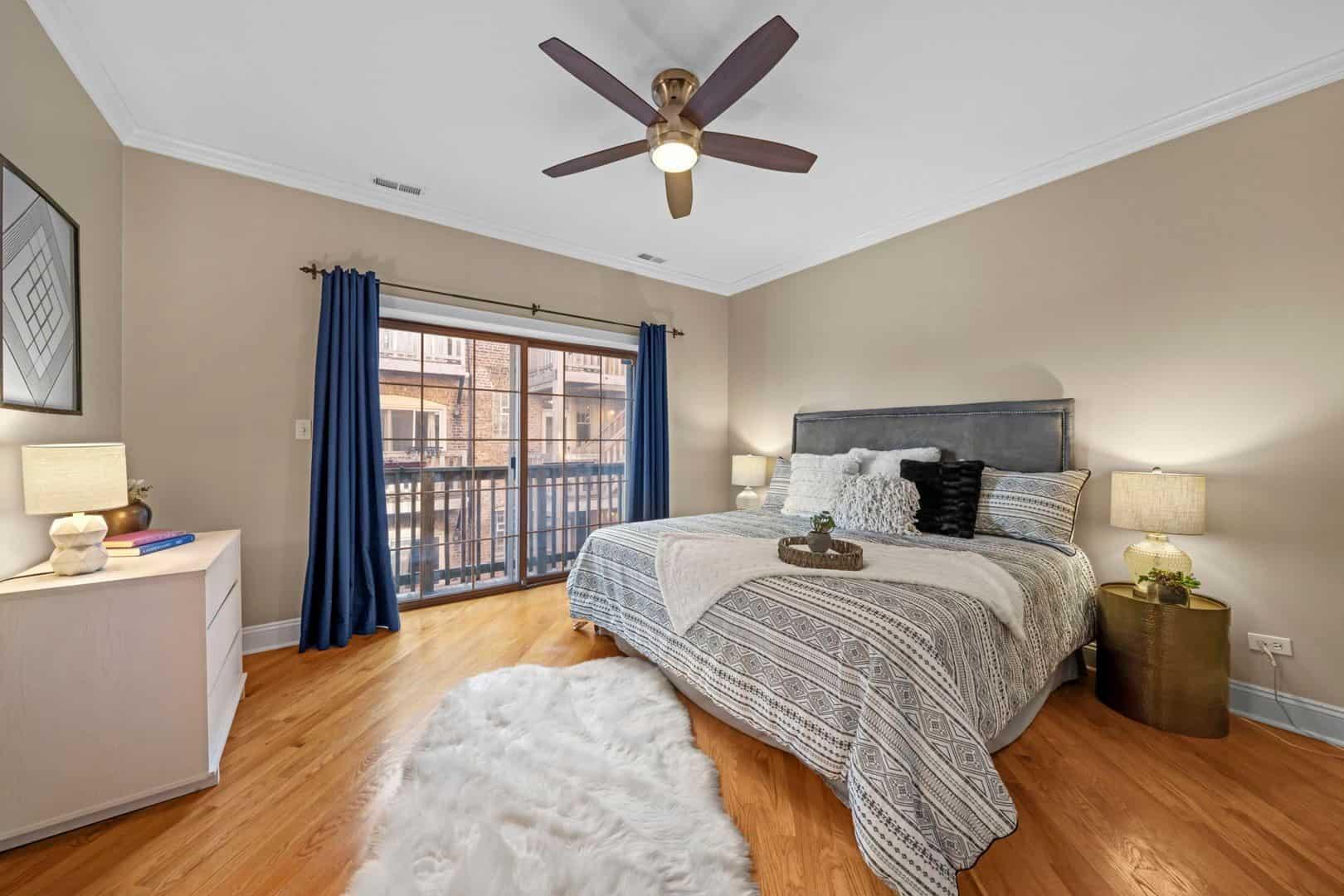 5319 South Harper - Bedroom