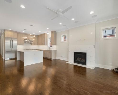 Wicker Park Three Bedroom Condo - 2018 W Le Moyne Street Unit 2E Chicago, IL 60622 - Living Area