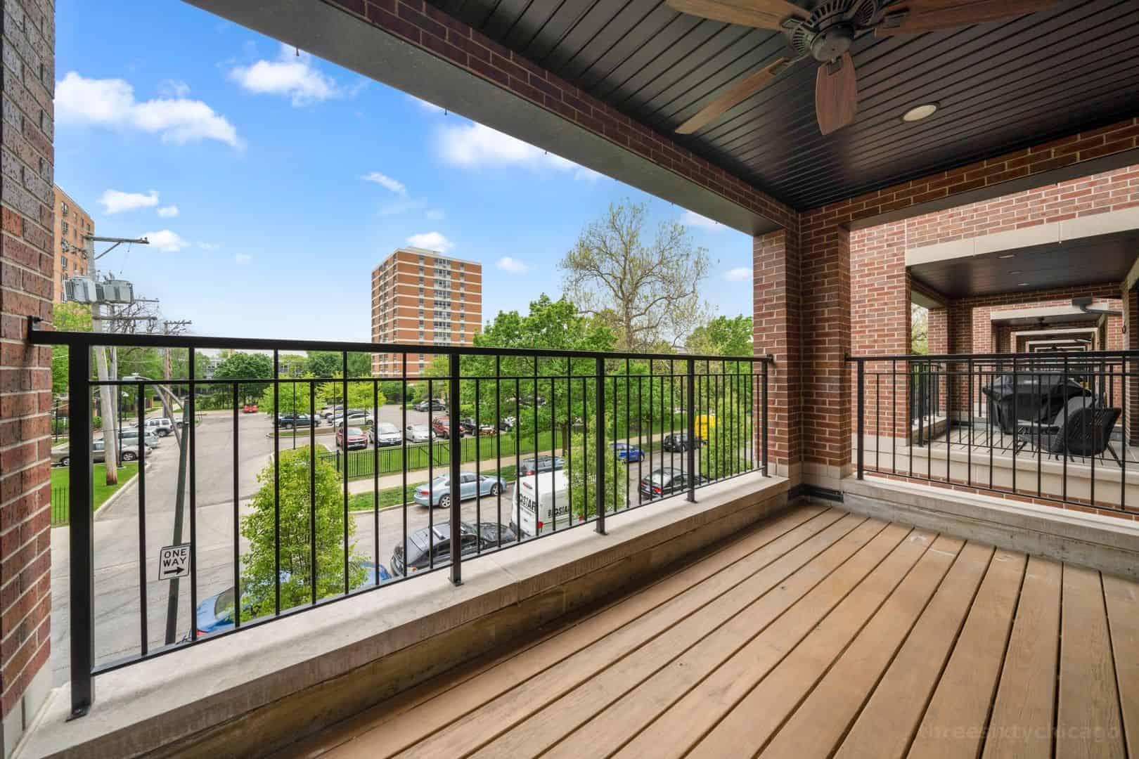 2018 W Le Moyne Street Unit 2E Chicago, IL 60622 - Terrace