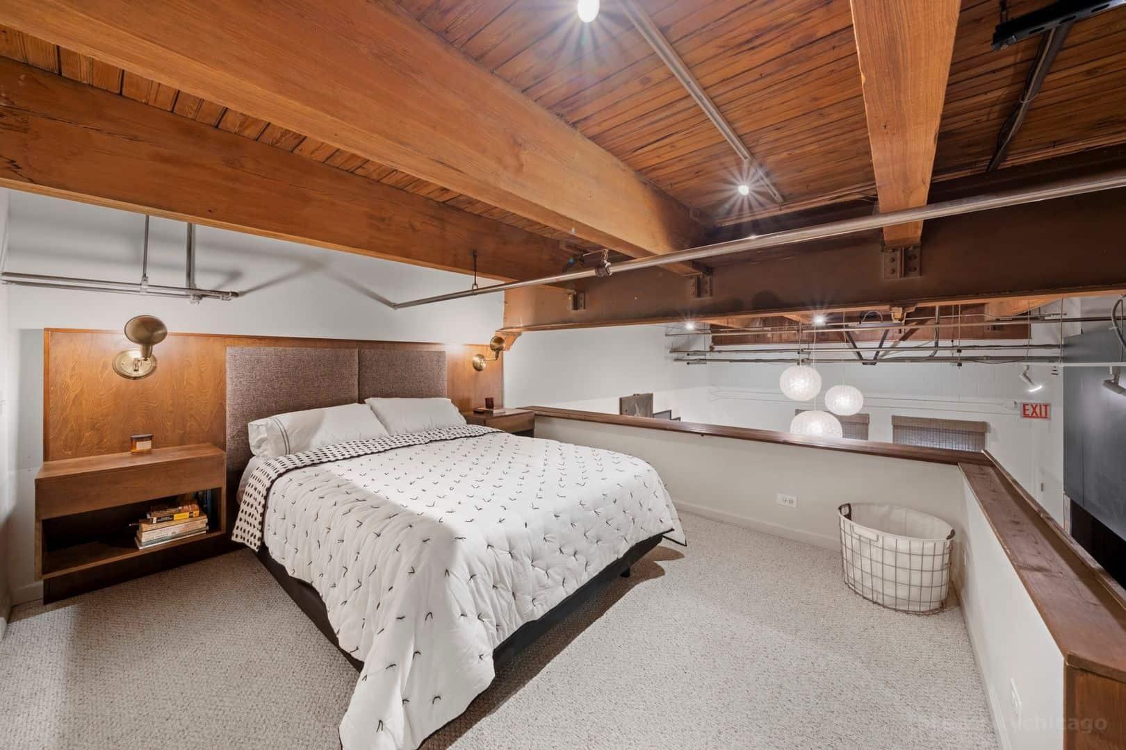 22 N Morgan Street, Unit 106, Chicago IL 60607 - Bedroom