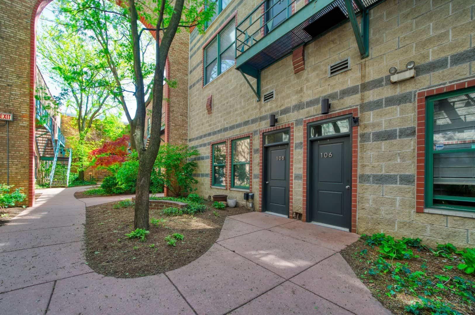 Courtyard - 22 N Morgan Street, Unit 106, Chicago, IL 60607