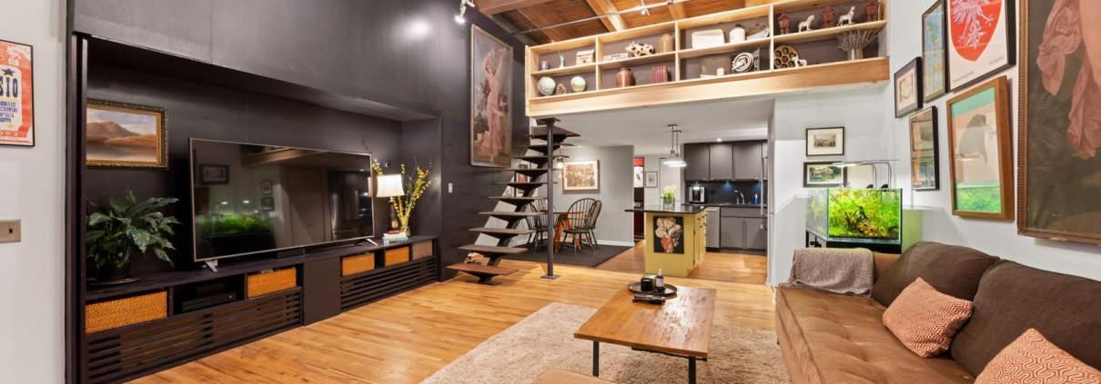 22 N Morgan Street, Unit 106, Chicago IL 60607 - Living Area