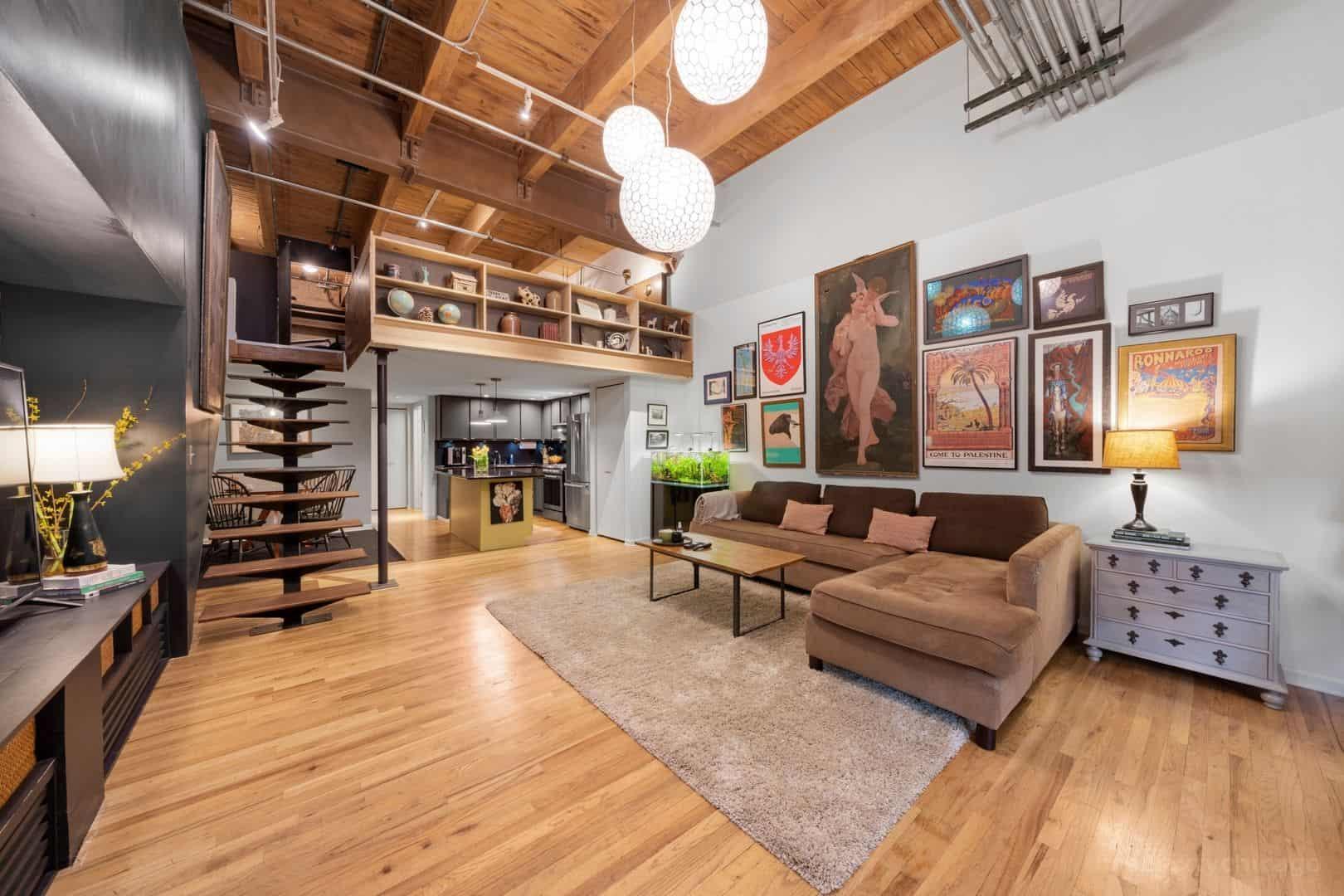 22 N Morgan Street, Unit 106, Chicago IL 60607 - Living Area 2