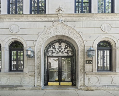 Classic entry to 415 W Aldine Ave, 13B, Chicago IL 60657 - Classic East Lakeview Condo