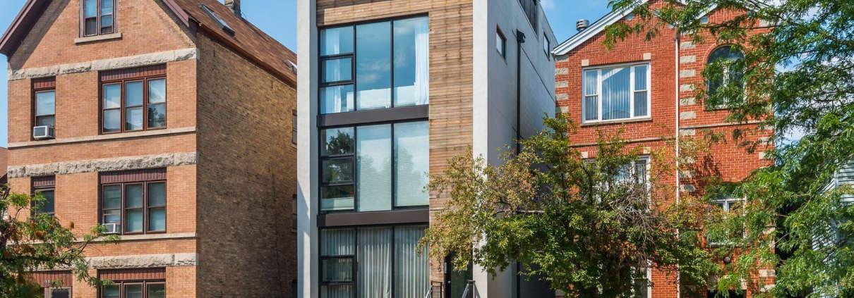 Exterior of 1530 W Chestnut Street, #2, Chicago, IL 60642